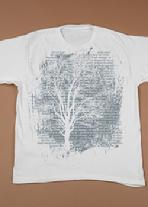 Organic Cotton T-shirt, ConserveProtect Preserve Tree (CPPTree)