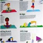Eco Yoga Kit for Children Wai Lana's Little Yogis
