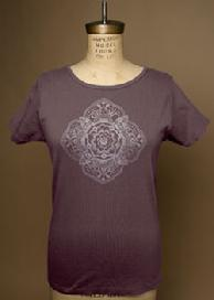 Medallion, Yoga Organic Cotton Tee, Short Sleeve by Green 3 Apparel