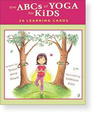 Teresa Anne Power the ABC of Yoga for Kids Learning Cards