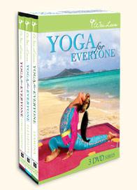 Wai Lana's Yoga for Everyone 3 DVDs