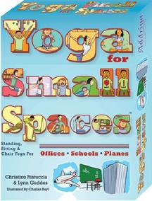 Addriya Learn with Yoga - Yoga for Small Spaces Card Deck