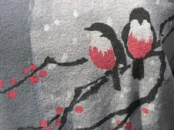 "Organic Cotton Tee, ""Joy Birds"""