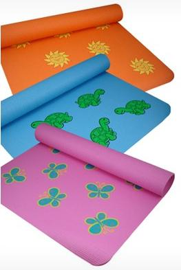 The Little Yoga Mat Lotus and Sun