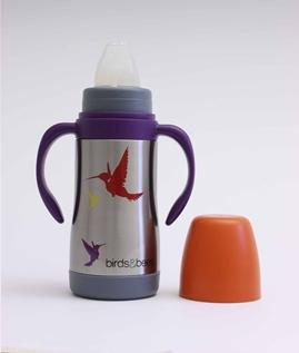 Eco Sippy cup Hummingbird - water bottle from EarthLust