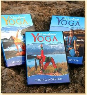 Wai Lana's Easy Series Yoga DVDs