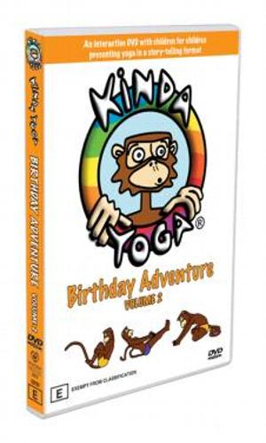 KindaYoga DVD Birthday Adventure at playtimeyoga.com