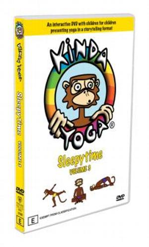 KindaYoga DVD Sleepytime at playtimeyoga.com