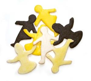 yoga sheped cookie cutters Yummi Yogi Kitchen Yogi THYTOO Karen La Du