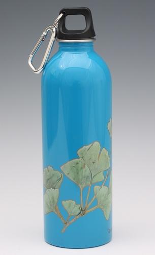 Ginko leaf - ECO water bottle from EarthLust