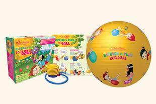 Eco Ball for Kids to stretch and play