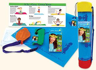 Yoga mats and videos for children