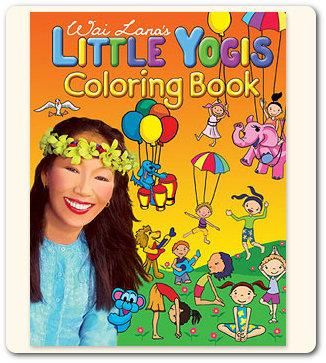 Wai Lana's Little Yogis Coloring Book