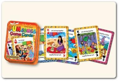 Wai Lana's Little Yogis Fun Songs Game Cards